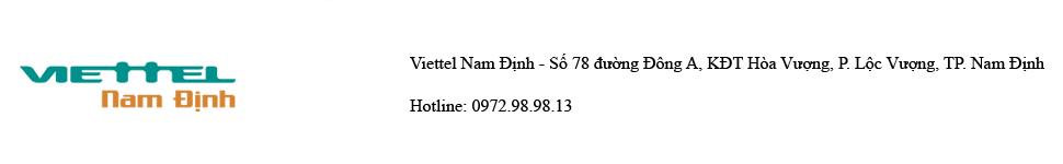 Tập đoàn Viễn thông Quân đội – Viettel Telecom Nam Định